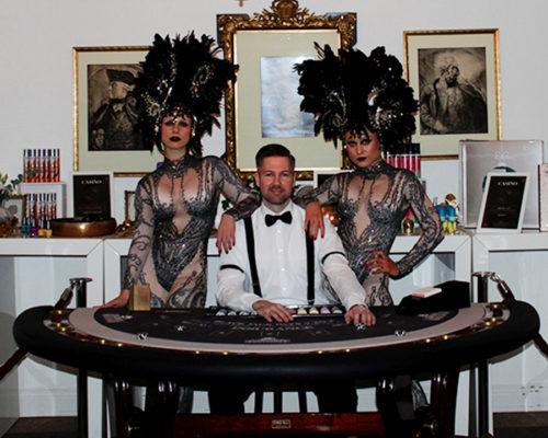 Bild Croupier mieten Casino Deutschland